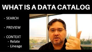 What is a Data Catalog - Tech VLOG
