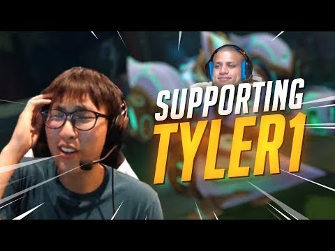 Doublelift - SUPPORTING TYLER1