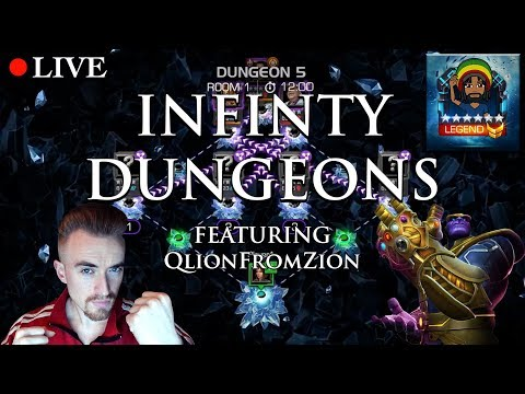 LIVE: Infinity Dungeons [Feat. QLion From Zion] | Marvel: Contest of Champions