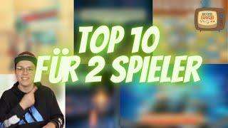 Brettspiele für 2 Personen - Top 10