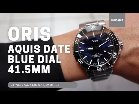 Oris Aquis Date 41.5MM 01 733 7766 4135-07 8 22 05PEB