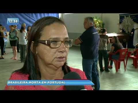 Corpo de brasileira morta em Portugal chega em Amaporã