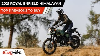 2021 Royal Enfield Himalayan BS6 Tripper Navigation   TOP 5 REASONS TO BUY   Buying Guide   BikeWale
