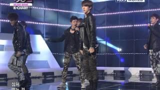 [Music Bank K-Chart] Exo-K - MAMA (2012.04.13)