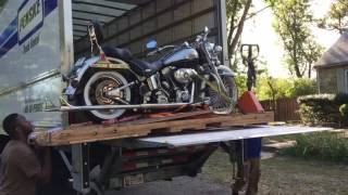 100th Anniversary Harley Davidson Damaged By Shipping Company - Contract #FM8118