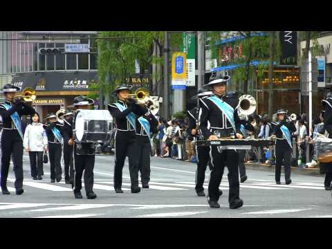 中央区立日本橋中学校吹奏楽部 GINZA WILLOW FESTIVAL 2014 銀座柳まつり