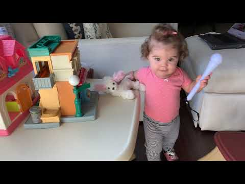 When Grandma's Away… Play Video Of Her For The Baby! TOO CUTE!