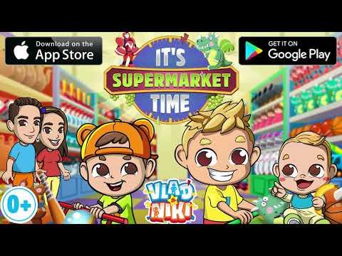 Vlad & Nikita supermarket game for Kids v1.1.0