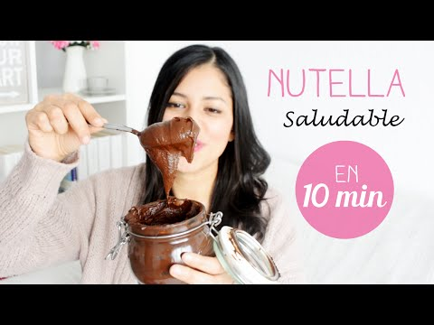 Receta Para Preparar La Nutella Más Fit Del Mercado