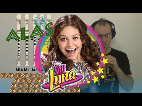 """, title : '""""Alas"""" SOY LUNA Tutorial para Flauta Dulce + Guitarra + Notas Explicadas'"""