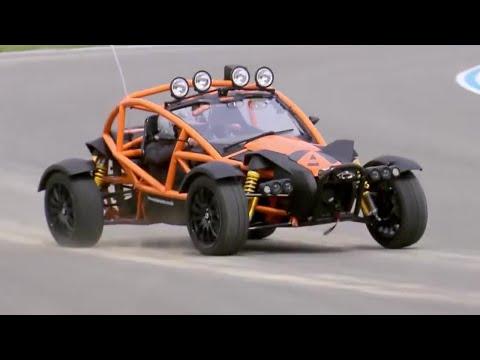 Chris Harris Drives the INSANE Ariel Nomad | Extra Gear | Top Gear