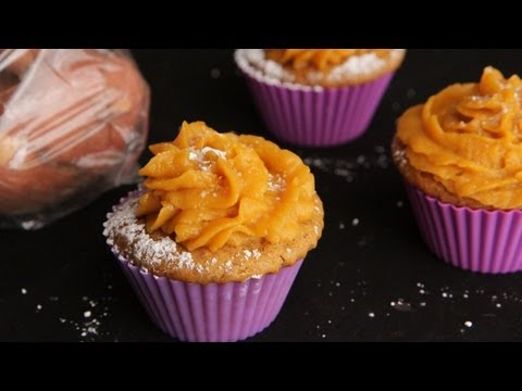 Sweet Potato Cupcakes Recipe - The Vegan Cupcake Project