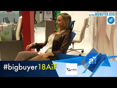 VERTIGO ergonomic office chair by UNISIT srl