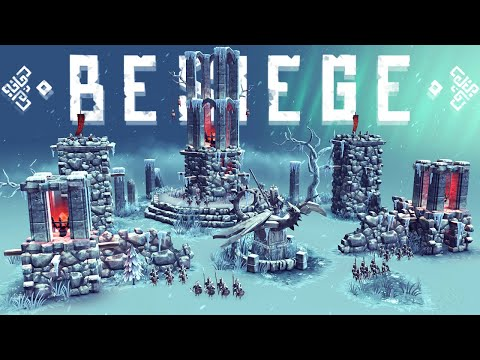 Destroying Valfross - New Campaign Levels & Building Vehicles To Destroy Them - Besiege