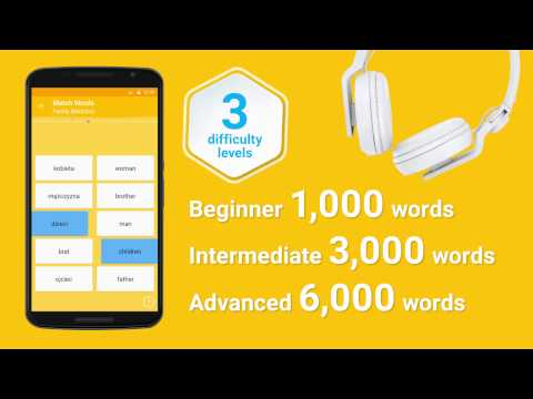 Video of Learn Polish 6,000 Words