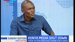 Sunday Edition: Kenya Media shut down