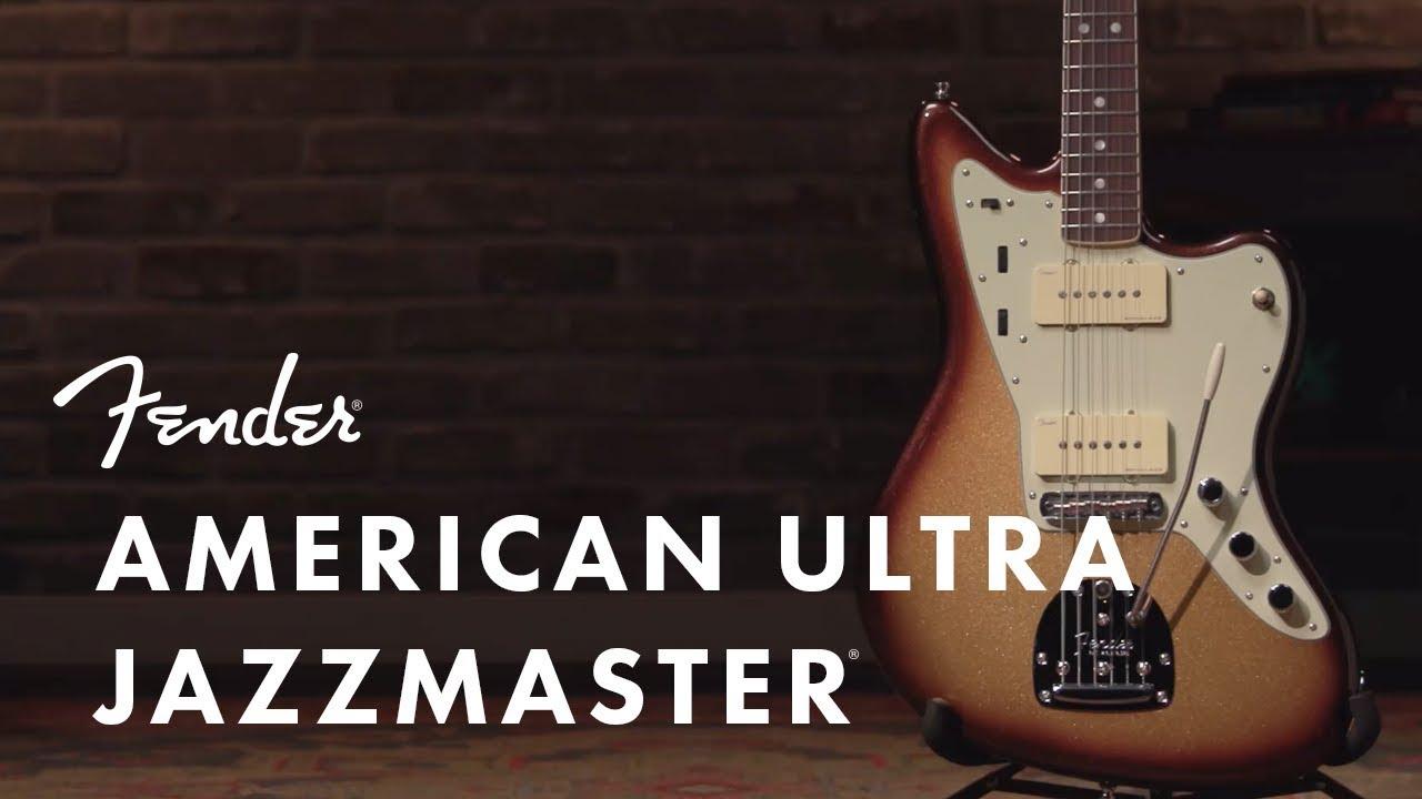Fender AMERICAN ULTRA(フェンダー アメリカン ウルトラ) JAZZMASTER