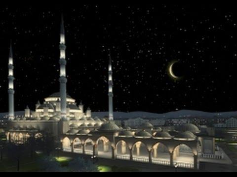 Прямой эфир из Грозного - мечеть Сердце Чечни