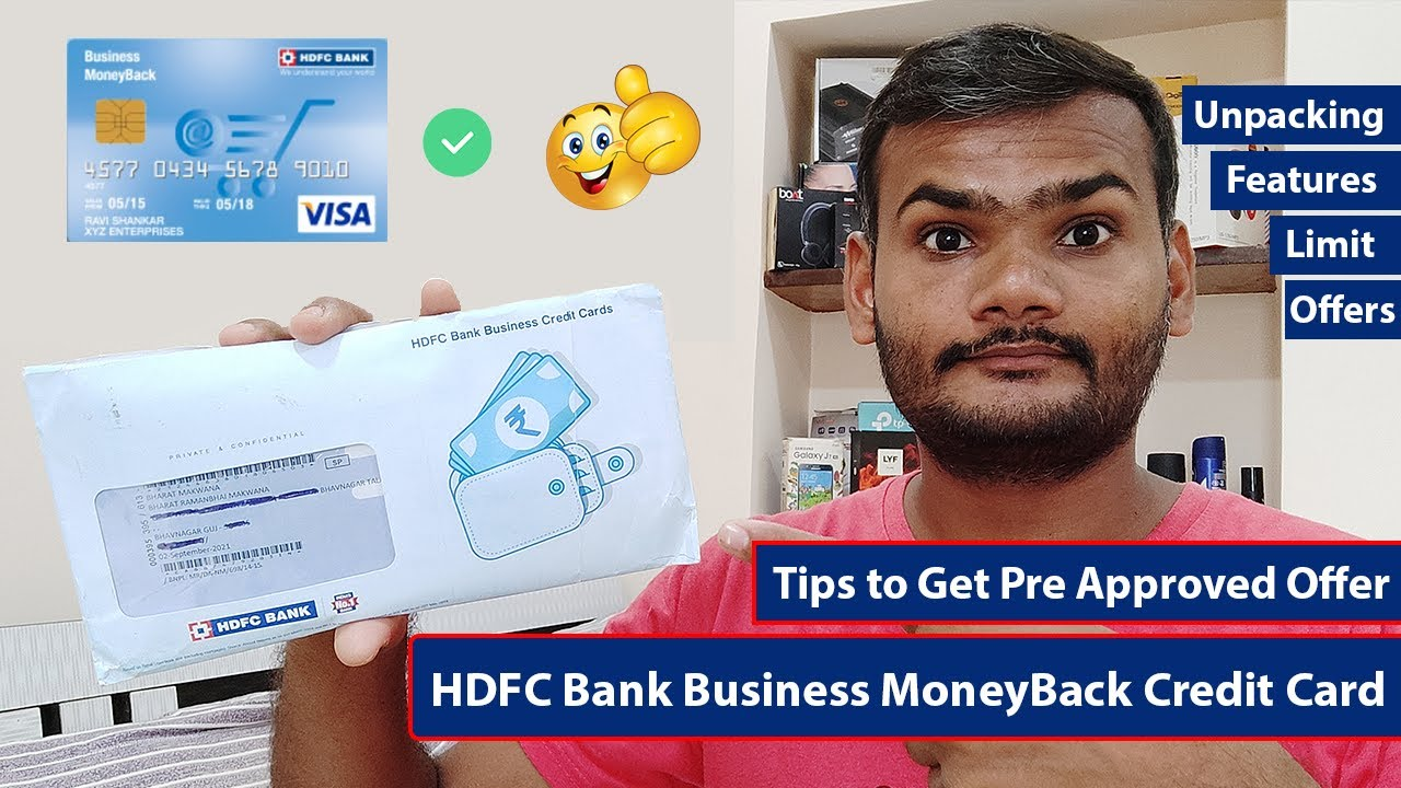 HDFC Bank Credit Card Pre Authorized Unloading Functions More thumbnail