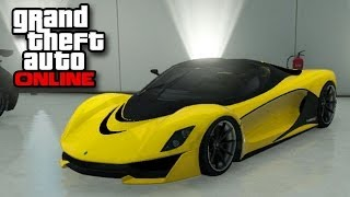 GTA Online - Grotti Turismo R Supercar (Business Update DLC New Grand Theft Auto Multiplayer)