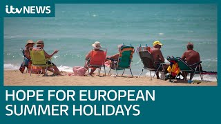 Summer holidays abroad back on as UK announces major change to quarantine rules | ITV News
