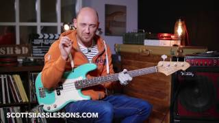 Forget Me Nots   Bass Line Analysis & Lesson  Scott's Bass Lessons