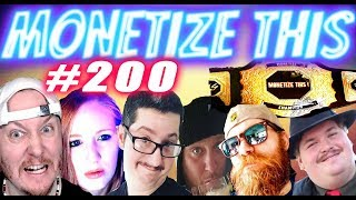 MONETIZE THIS ! #200  -  JDfromNY206  WONT be HERE ! - The World ENDS !