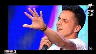 """Uddi a lăsat mască juriul de la X Factor cu piesa """"Georgia On My Mind"""""""