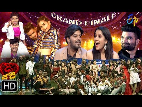 Dhee Jodi Grand Finale | 4th September 2019   | Full Episode | ETV Telugu