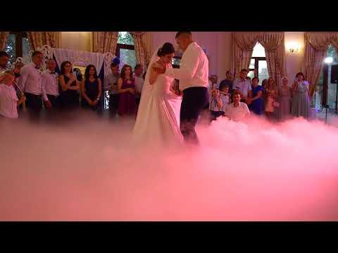 Оформлення весільного танцю спецефектами, відео 1