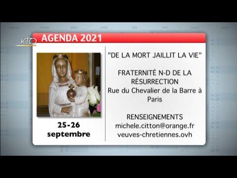 Agenda du 13 septembre 2021