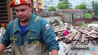 Спасатели ликвидируют последствия наводнения в Забайкалье