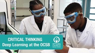 Critical Thinking (High School) -  Deep Learning