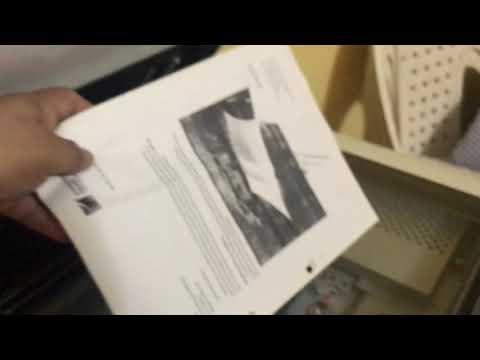 prueba de fotocopiado Konica Minolta Bizhub c203