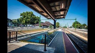 Szántód-Kőröshegy - Balatonszentgyörgy és Kaposvár - Fonyód vasúti vonalszakaszok rekonstrukciója