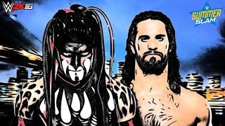 WWE 2K16 Summerslam 2016 Finn Bálor vs Seth Rollins Promo!