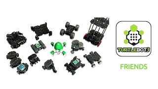 20170424 TurtleBot3 29 Friends Example