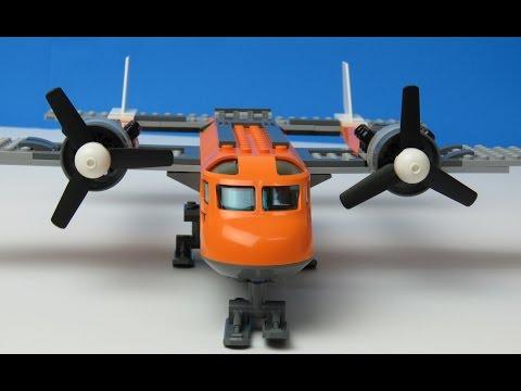 Vidéo LEGO City 60064 : L'avion de ravitaillement