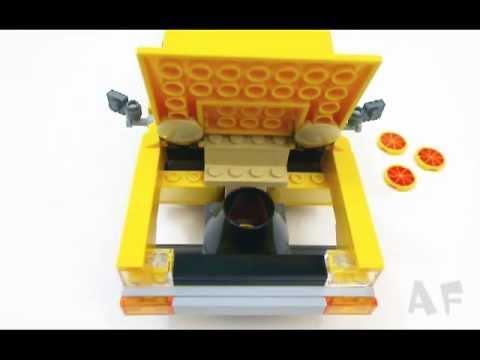 Vidéo LEGO Toy Story 7598 : La course en camionnette Pizza Planet