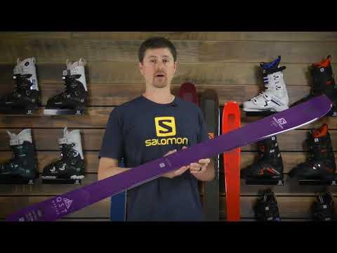 Salomon QST Myriad 85 Skis- Women's 2019 Review