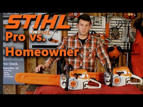 Stihl Pro Saw vs. Farm/Ranch