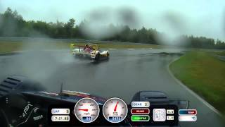preview picture of video 'Radical Cup SR8 - 2014 Final Race Monticello Motor Club Sept 2014 RAIN - First Four Laps'