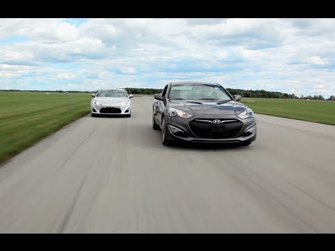 2013 Scion FR-S vs. 2013 Hyundai Genesis Coupe Comparison