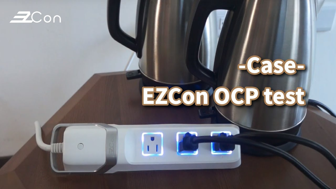 The OCP comparison of two power strips