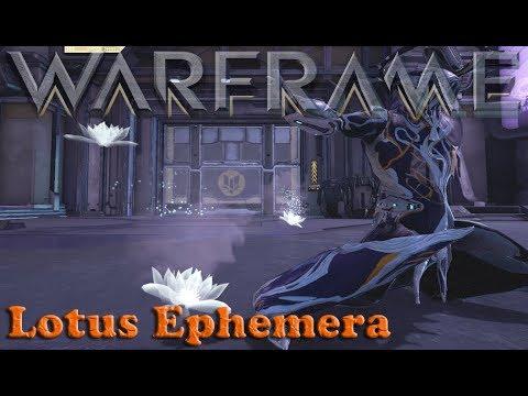 Warframe - Free Lotus Ephemera [Pre Tennolive 2019]