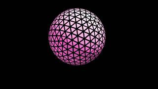 Ultra HD Abstract sphere alpha royalty free stock footage free to download and use videos