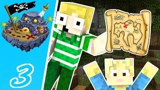 Dansk Minecraft - Døds Øen #3: ET SKATTE KORT!!