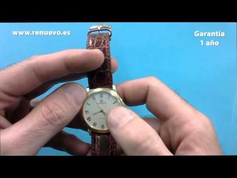 Reloj RADIANT de oro de 18 kilates de segunda mano E206704A