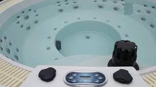 TAORMINA (Таормина) New Ø208*93 от компании Comfort SPA - бассейны и СПА бассейны, комплектация зон отдыха - видео 2