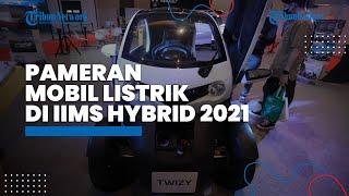 Mobil Listrik Dipamerkan di IIMS Hybrid 2021 di JI Expo